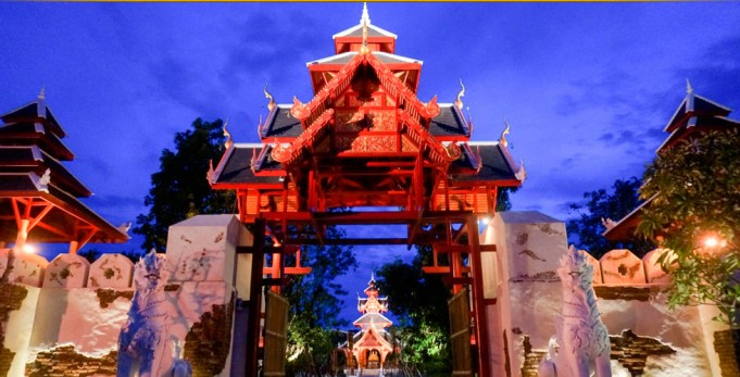 ไทธานี Thai Thani Arts and Culture Village Pattaya