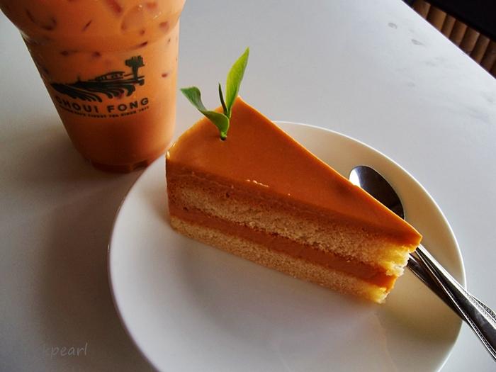 เค้กชาไทย