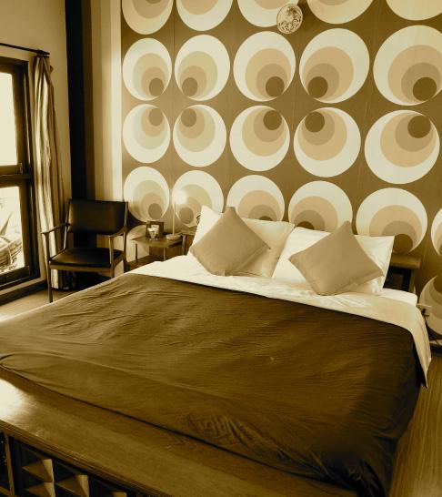 กรีน แกลอรี่ เบด แอนด์ เบรคฟัสต์-ห้องนอน
