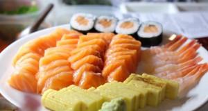ดิบดี Sushi Cafe-ซูชิหลากหลาย