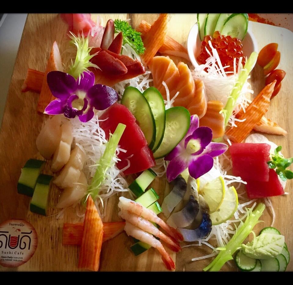 ดิบดี Sushi Cafe- น่ากิน