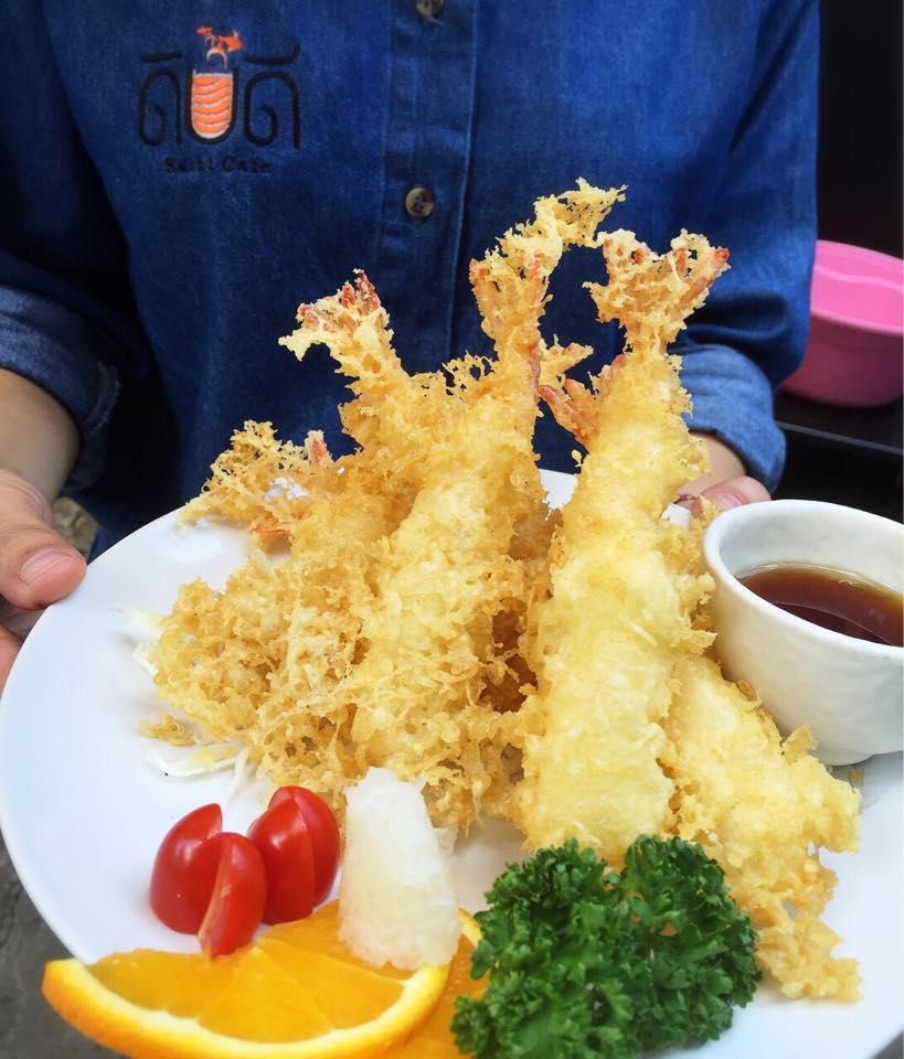 ดิบดี Sushi Cafe- เทมปุระ