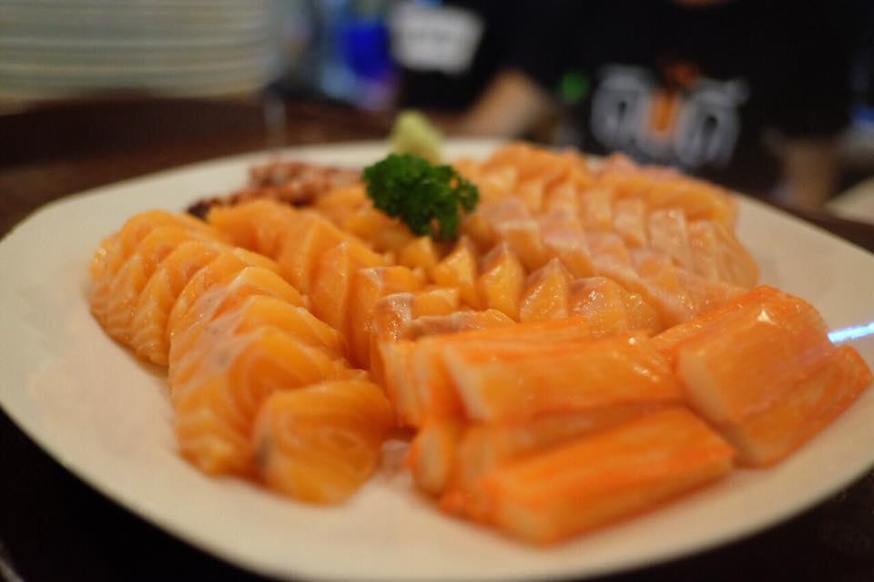 ดิบดี Sushi Cafe-เมนูซูชิ