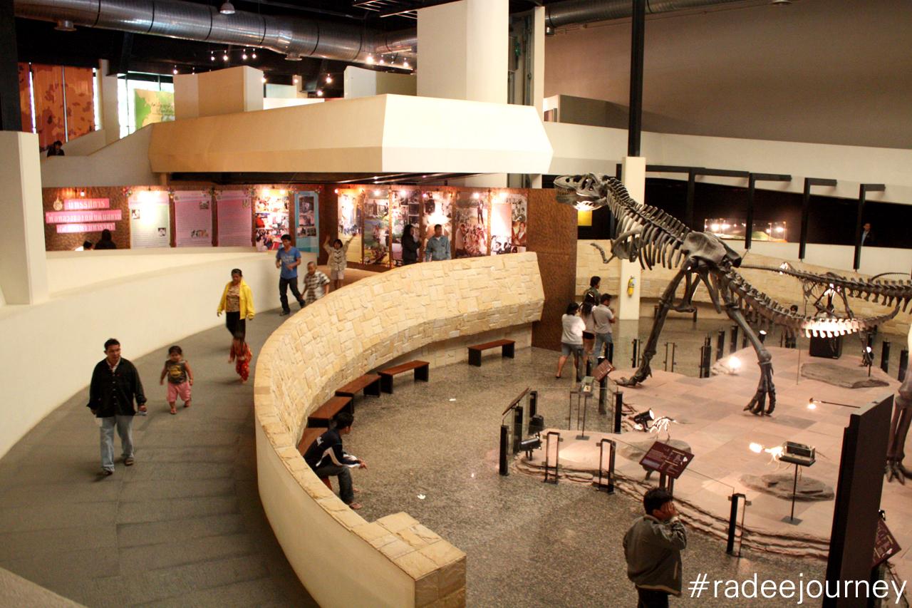 ด้านในพิพิธภัณฑ์ไดโนเสาร์1