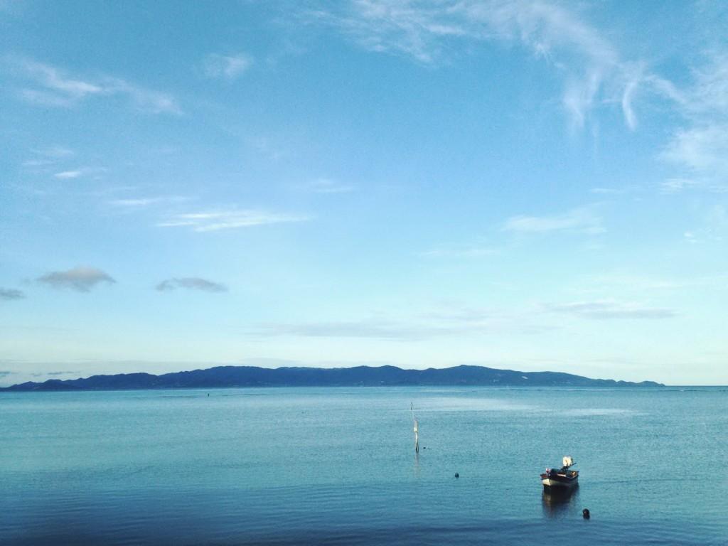 มองไปเห็นเกาะสมุย