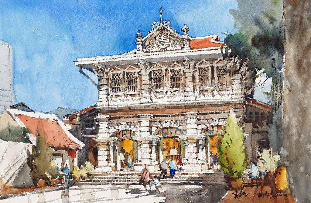 พิพิธภัณฑ์ภูเก็ตไทยหัว-ภาพเขียน