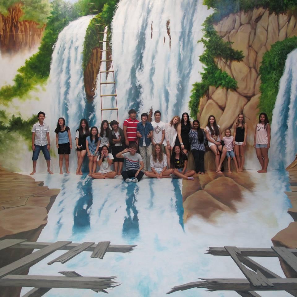 ภูเก็ต ทริกอาย มิวเซียม-น้ำตก