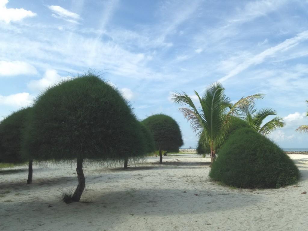 มาลีบู บีช เป็นอีกหาดที่ทรายขาวสะอาดละเอียด