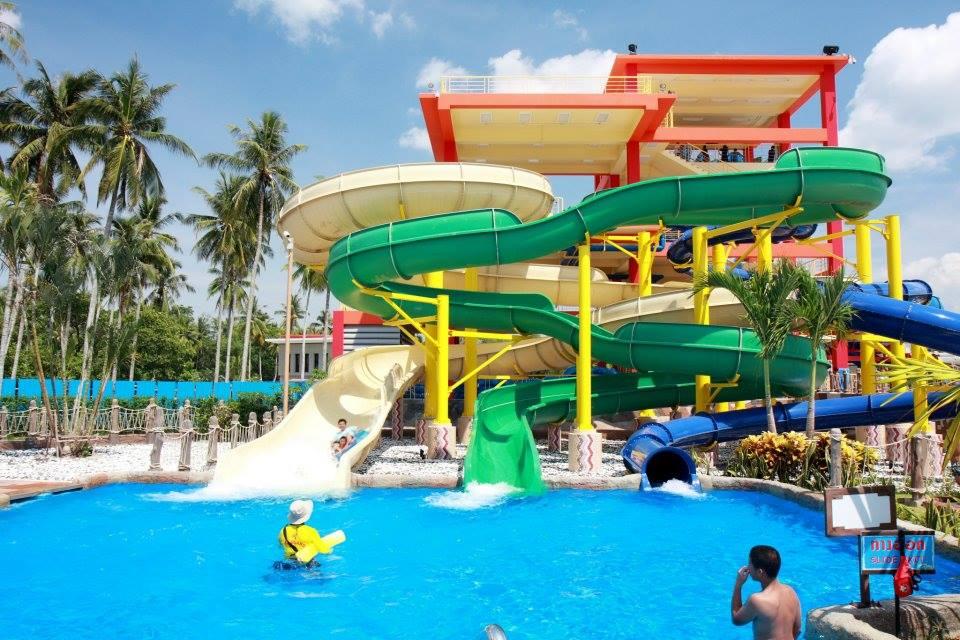 สวนน้ำ Splash Jungle-เครื่องเล่นสุดฮิต