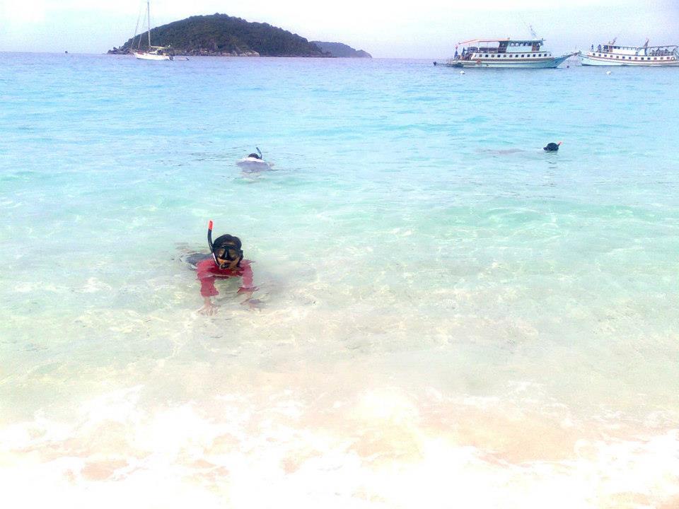 สิมิลัน เกาะแปด  สวรรค์แห่งท้องทะเล