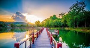 หนองบัวพระเจ้าหลวง-วิว-สะพาน