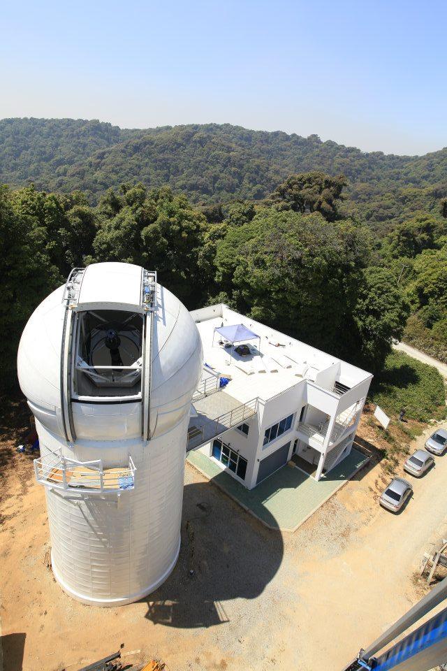 หอดูดาวแห่งชาติ เชียงใหม่-กล้อง
