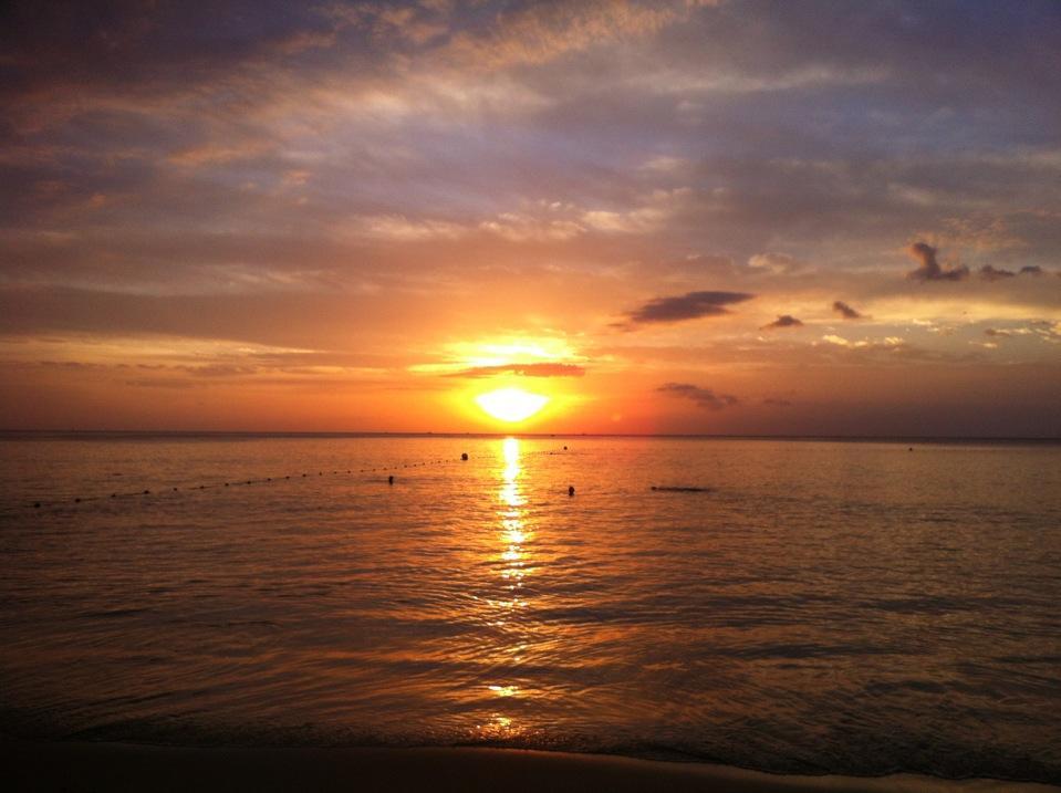 หาดกะรน-พระอาทิตย์ตก