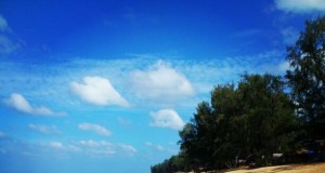 หาดทรายเเก้ว-บรรยากาศ-ดี