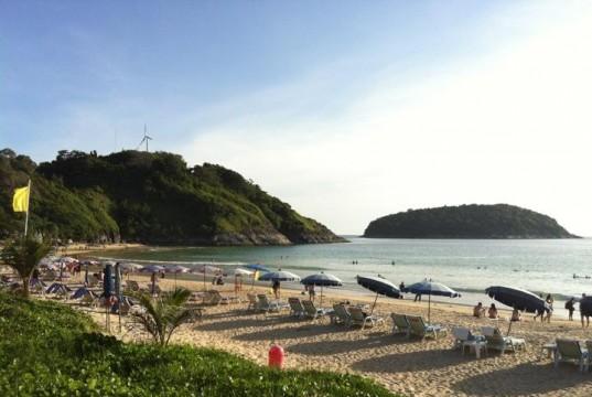 หาดในหาน-บรรยากาศ-นักท่องเที่ยว