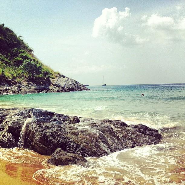 หาดในหาน-โขดหิน