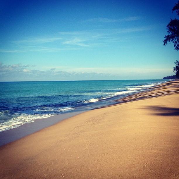 หาดไม้ขาว-บรรยากาศ