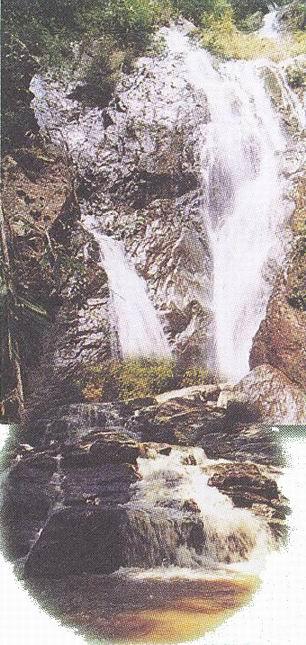 อุทยานแห่งชาติขุนขาน-บรรยากาศ-น้ำตก