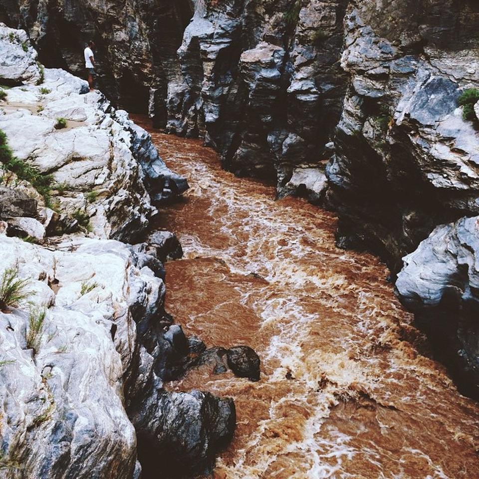 อุทยานแห่งชาติออบขาน-สีของน้ำ