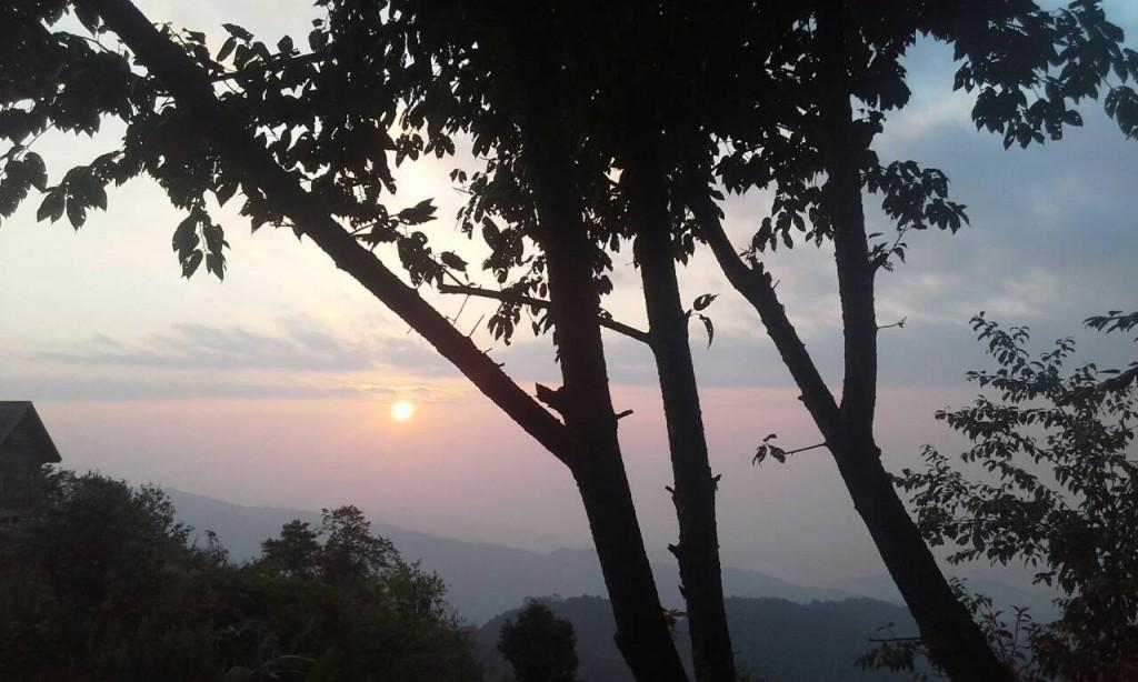 อุทยานแห่งชาติ ดอยฟ้าห่มปก-ยามเช้า