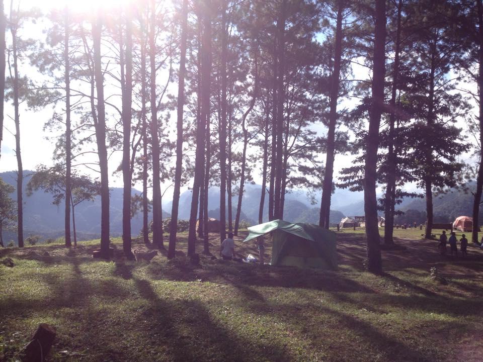 อุทยานแห่งชาติ ดอยฟ้าห่มปก-ลานกางเต็นท์