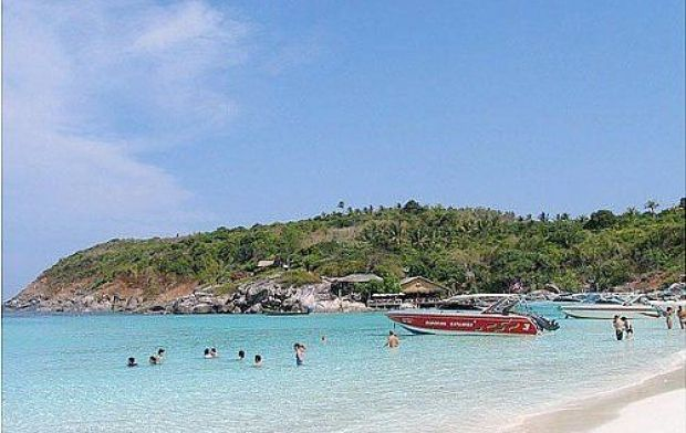 เกาะตะเภาใหญ่-ชายหาด