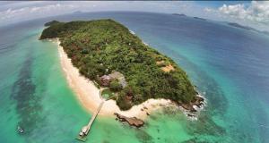 เกาะไม้ท่อน -มุมสูง