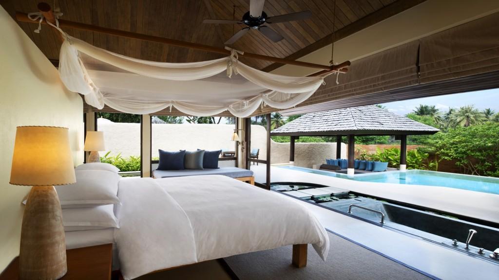 เชอราตัน หัวหิน ปราณบุรี วิลล่า-พูลวิลล่า-เตียงนอน