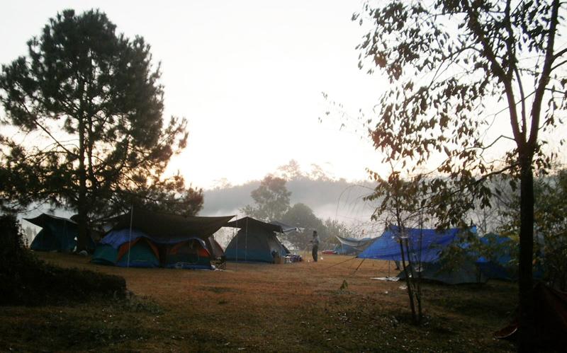 โครงการหลวงหมู่บ้านวัดจันทร์-ลานกางเต็นท์