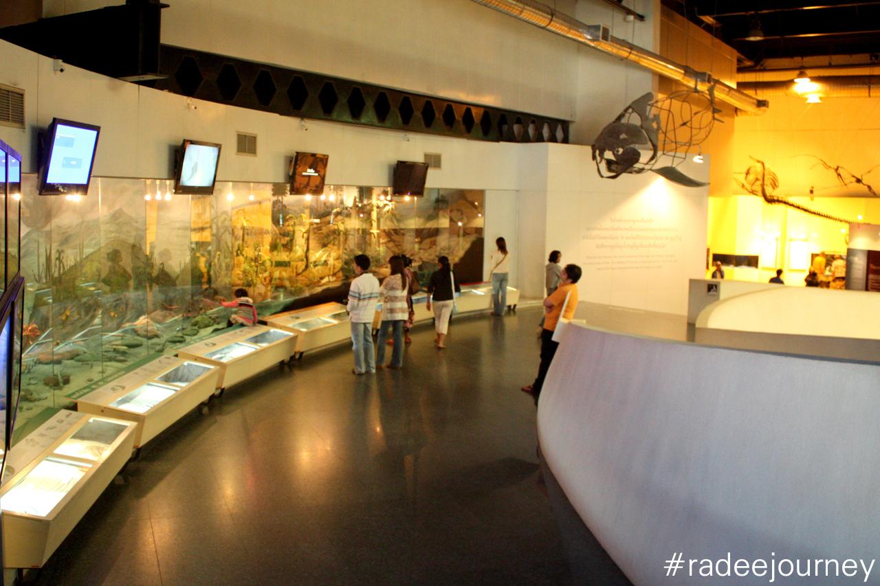 โซนพิพิธภัณฑ์ไดโนเสาร์