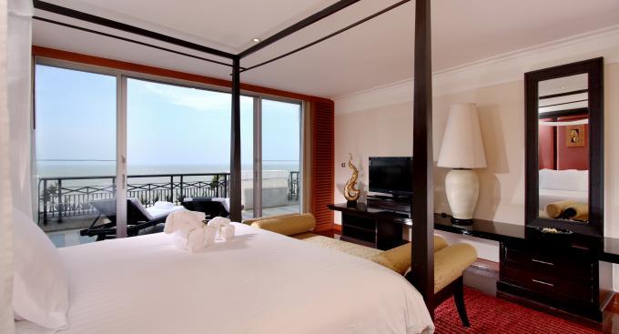โรงแรมฮิลตัน หัวหิน รีสอร์ท แอนด์ สปา-ห้องพักสบายๆ