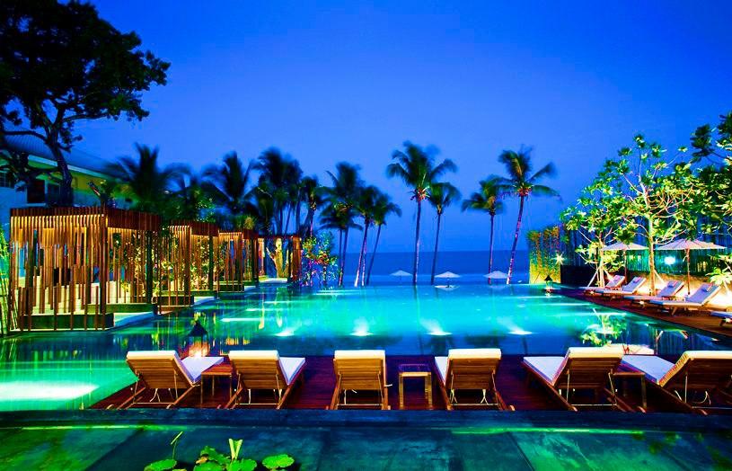 โรงแรมเคป นิทรา หัวหิน-สระน้ำ