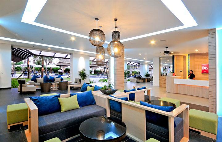 โรงแรมไอบิส ภูเก็ต ป่าตอง-บรรยากาศภายใน