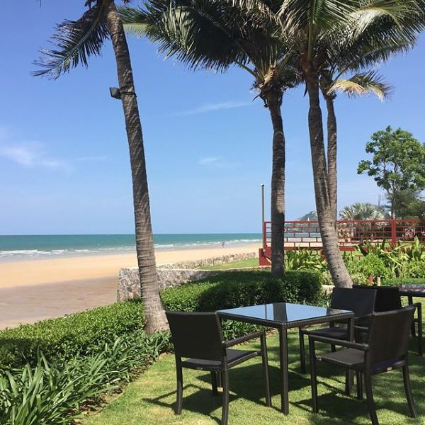โรงแรมไฮแอท รีเจนซี่ หัวหิน-ที่ทานอาหารริมทะเล