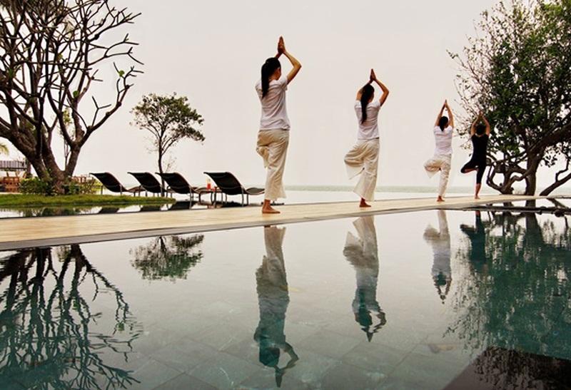 โรงแรม วี วิลล่าส์ หัวหิน-สระว่ายน้ำ