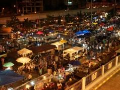 ตลาดกลางคืน รัชดา ไนท์บาร์ซาร์-บรรยากาศ