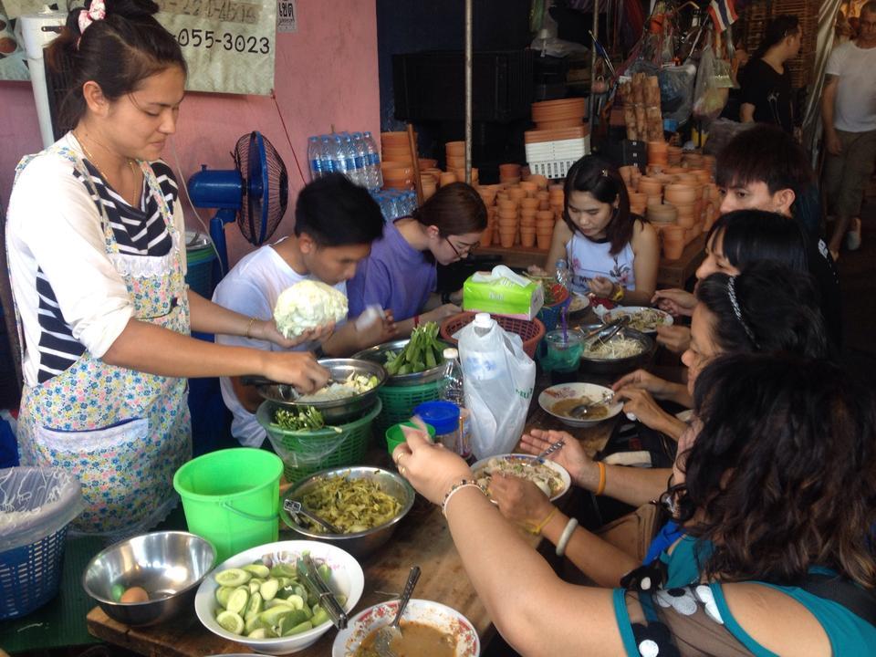 ตลาดนัดจตุจักร-ร้านอาหาร