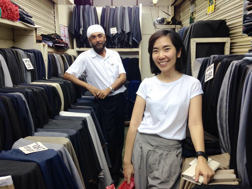 พาหุรัด-เเขกขายผ้า