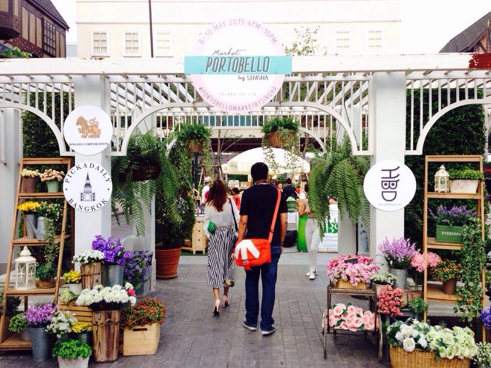 พิคคาเดลี่ แบงค์ค็อก-ร้านดอกไม้