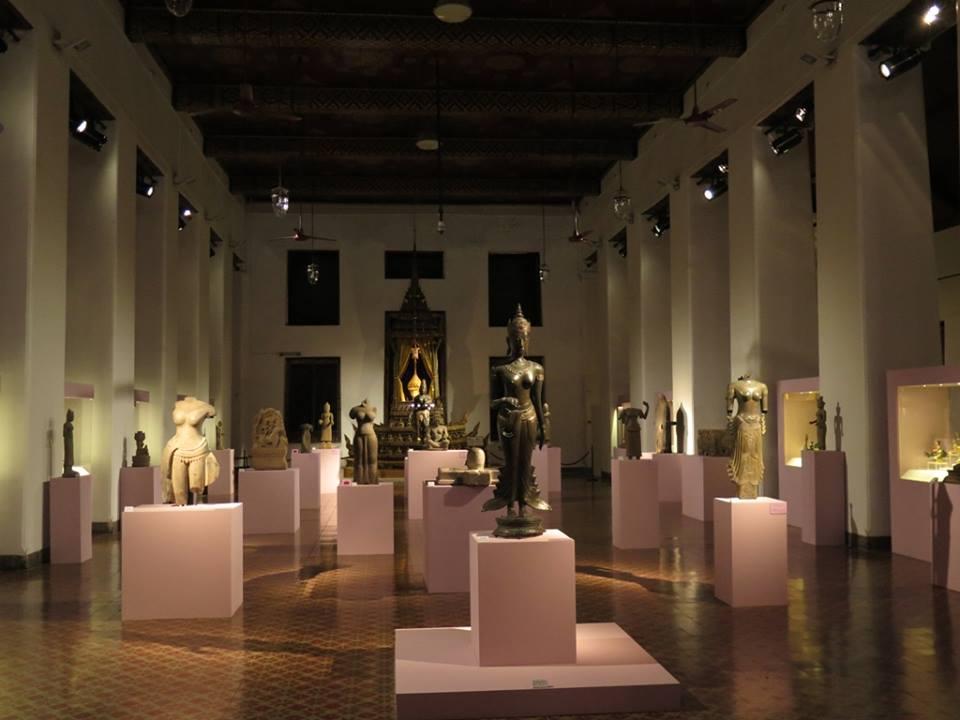 พิพิธภัณฑสถานแห่งชาติ พระนคร-การจัดเเสดงภายใน
