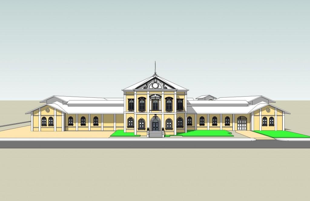 พิพิธภัณฑสถานแห่งชาติ หอศิลป-อาคาร