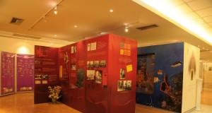 พิพิธภัณฑ์ตราไปรษณียากร สามเสนใน-การจัดเเสดง