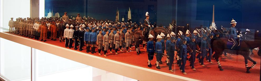 พิพิธภัณฑ์ตำรวจ วังปารุสกวัน-สวนสนาม
