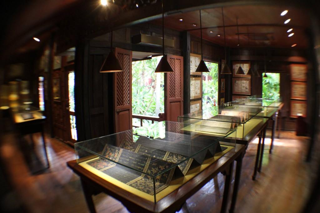 พิพิธภัณฑ์บ้านจิม ทอมป์สัน-การจัดเเสดง
