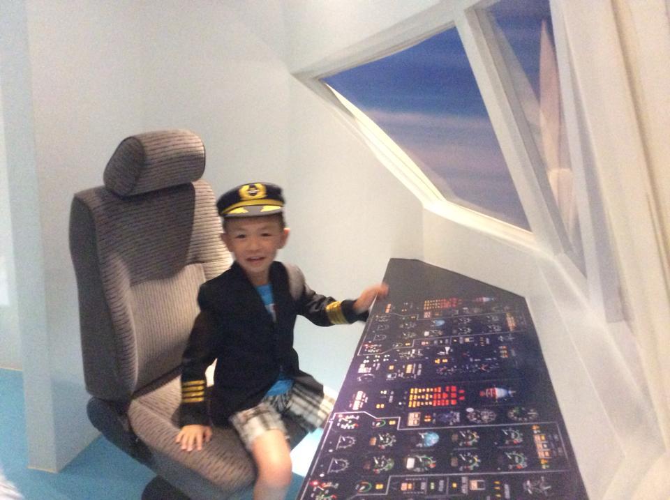 พิพิธภัณฑ์เด็ก กรุงเทพมหานคร-นักบิน