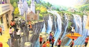 พิพิธภัณฑ์ อาร์ท อิน พาราไดซ์ กรุงเทพ-น้ำตกยักษ์