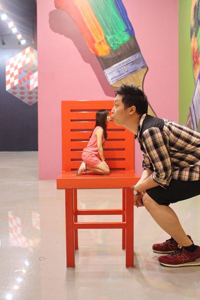 พิพิธภัณฑ์ อาร์ท อิน พาราไดซ์ กรุงเทพ-เก้าอี้มหัศจรรย์