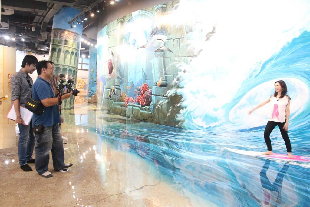พิพิธภัณฑ์ อาร์ท อิน พาราไดซ์ กรุงเทพ-โต้คลื่น