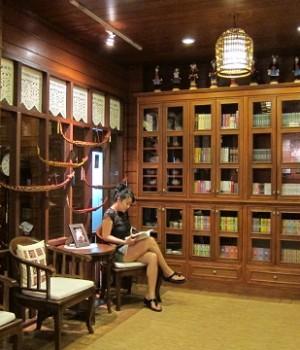 พูคาน่านฟ้า...ห้องสมุด