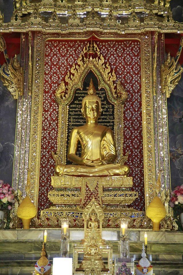 วัดมกุฏกษัตริยารามราชวรวิหาร-พระพุทธรูป